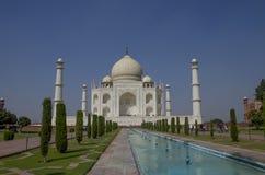 Taj Mahal el mausoleo en Agra la India Fotos de archivo