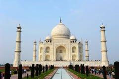 Taj Mahal em Agra, Índia fotos de stock royalty free