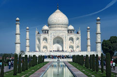 Taj Mahal em Agra Imagens de Stock