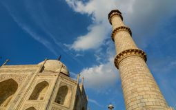 Taj Mahal em Agra, India fotos de stock