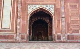 Taj Mahal em Agra, India foto de stock