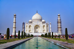 Taj Mahal em Agra, India Foto de Stock Royalty Free