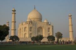 Taj Mahal em Agra, India - novembro 2011 Imagens de Stock