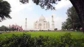 Taj Mahal em India video estoque