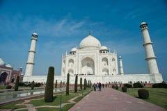 Taj Mahal en Agra Foto de archivo