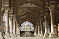 Taj Mahal en Agra Imágenes de archivo libres de regalías