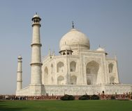 Taj Mahal en Agra Fotos de archivo libres de regalías