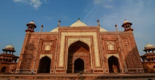 Taj Mahal en Agra, la India imagen de archivo libre de regalías