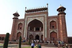Taj Mahal en Agra la India fotos de archivo libres de regalías