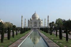 Taj Mahal en Agra la India fotografía de archivo libre de regalías