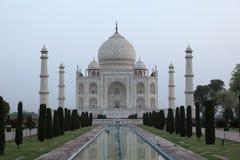 Taj Mahal en Agra la India fotografía de archivo