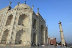 Taj Mahal en Agra la India foto de archivo libre de regalías
