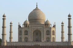 Taj Mahal en Agra la India imágenes de archivo libres de regalías