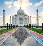 Taj Mahal en la India Imagenes de archivo