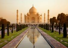 Taj Mahal en la India Imagen de archivo