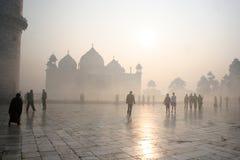 Taj Mahal en la India Fotografía de archivo libre de regalías