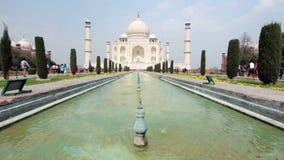Taj Mahal en la India metrajes