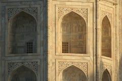 Taj Mahal en la salida del sol fotos de archivo libres de regalías