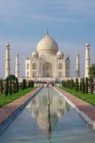 Taj mahal en luz de la tarde Imagen de archivo libre de regalías