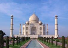 Taj mahal en luz de la tarde Fotografía de archivo