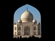 Taj Mahal Entrance stock photo