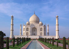 Taj mahal in evening light Stock Photography