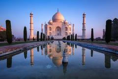Taj Mahal fabuloso Imagens de Stock Royalty Free