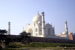 Taj mahal ,famous historical monument Stock Photos