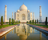 Taj mahal , A famous historical monument Stock Photo