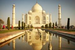 Taj mahal , A famous historical monument stock image
