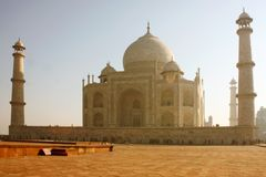 Taj mahal , A famous historical monument royalty free stock images