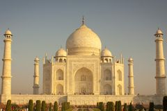 Taj mahal , A famous historical monument royalty free stock image
