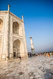 Taj mahal , A famous historical monument, A monument of love, the Greatest White marble tomb in India, Agra, Uttar Pradesh Stock Photography