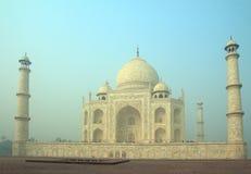 Taj Mahal - famous mausoleum Royalty Free Stock Photo