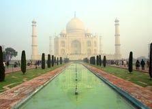 Taj Mahal - famous mausoleum Stock Photography