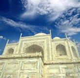 Taj Mahal - famous mausoleum Stock Image
