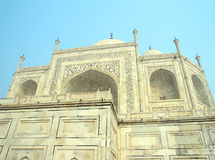 Taj Mahal - famous mausoleum Royalty Free Stock Photography