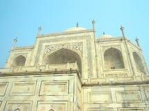 Taj Mahal - famous mausoleum Royalty Free Stock Photography