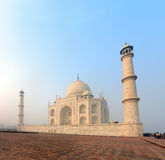 Taj Mahal - famous mausoleum in India Royalty Free Stock Photography