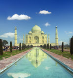 Taj Mahal - famous mausoleum in India Stock Photos