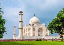 Taj Mahal. Famous Taj Mahal monument in Agra, India Royalty Free Stock Photo
