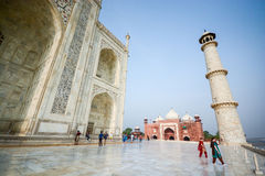 Taj mahal, Famous place of India Stock Photos