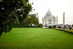 Taj mahal, famous place of India Stock Images