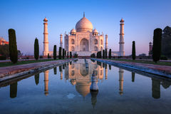 Taj Mahal favoloso Immagini Stock Libere da Diritti