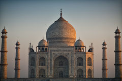 Taj Mahal at first light of dawn Royalty Free Stock Photos