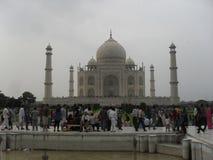 Taj Mahal Front stock foto's