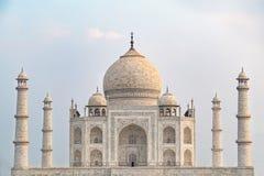 Taj Mahal frontowy widok Zdjęcie Royalty Free