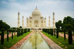 Taj Mahal frontowy widok Obraz Royalty Free