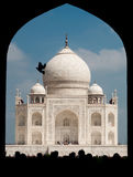 Taj Mahal gate Royalty Free Stock Photography