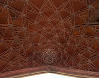 Taj Mahal gate architecture detail Royalty Free Stock Photo